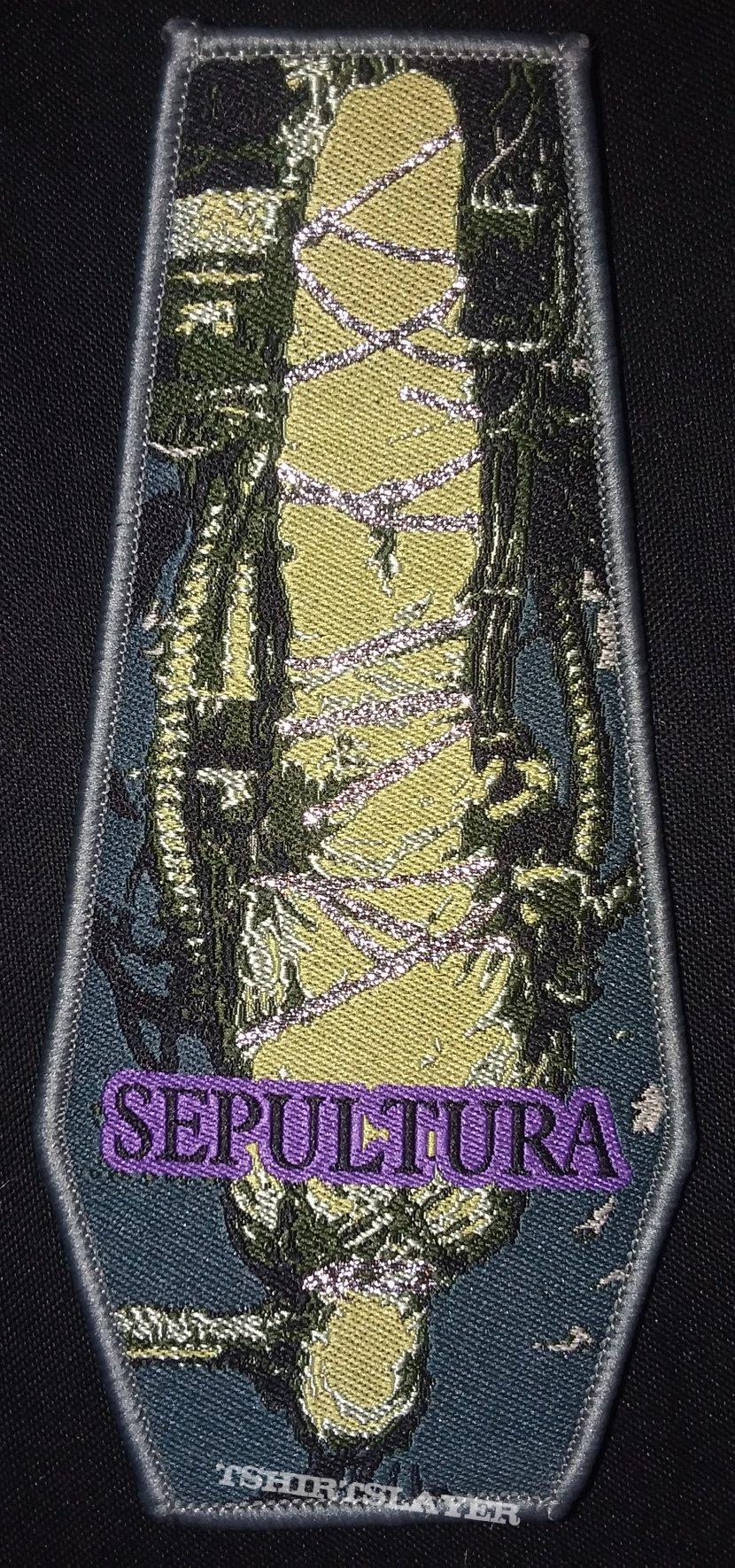 Sepultura - Chaos A.D. coffin patch