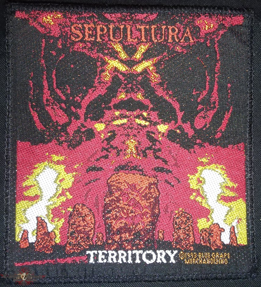 Sepultura - Territory patch