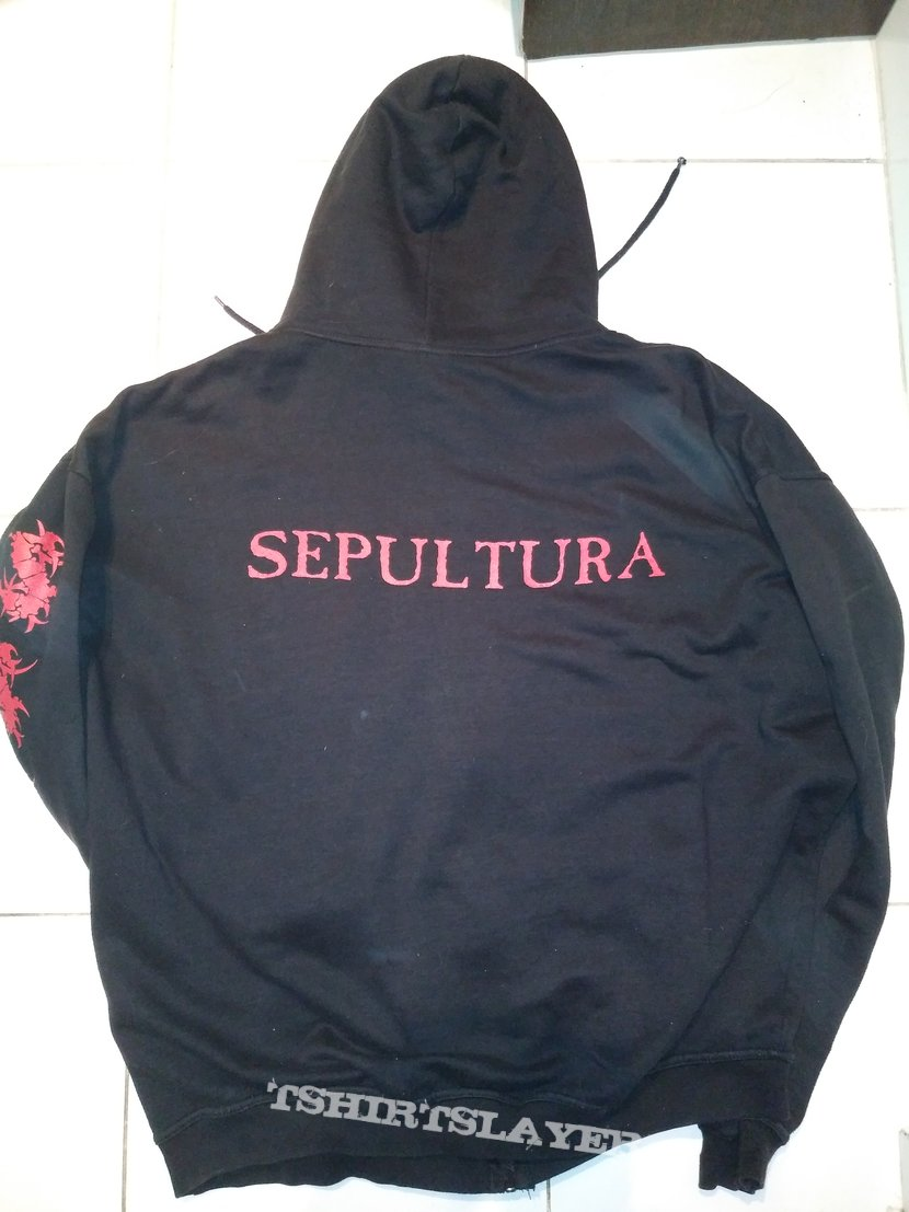 Sepultura - Beneath The Remains Hoodie