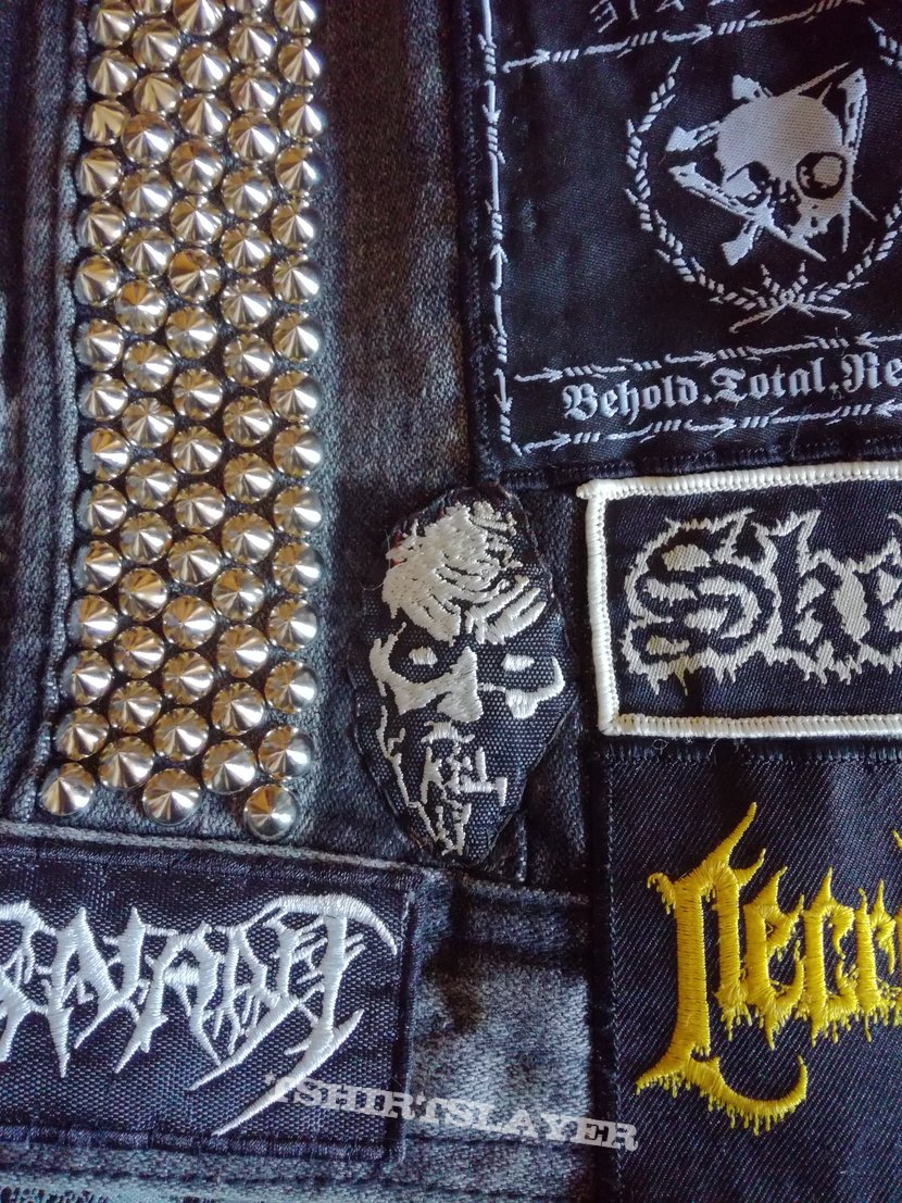 Hand painted / Studded / Filthy Jacket