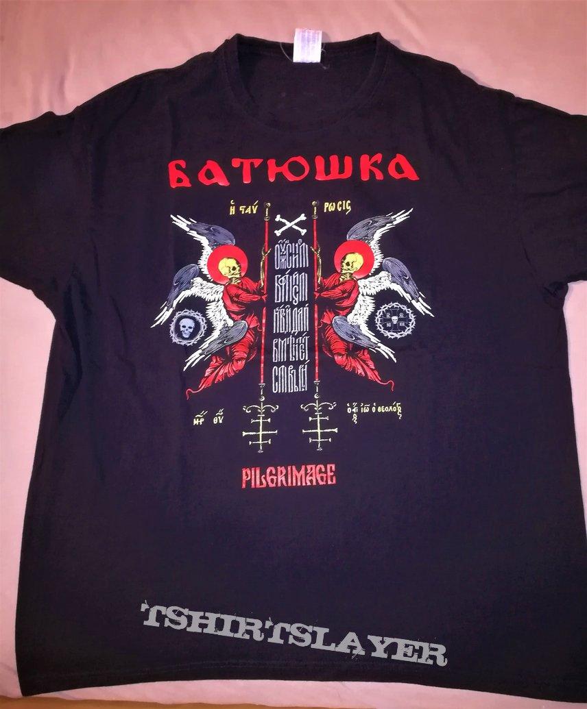 "Батюшка / Batushka ""European Pilgrimage Part III"" Tour Shirt"