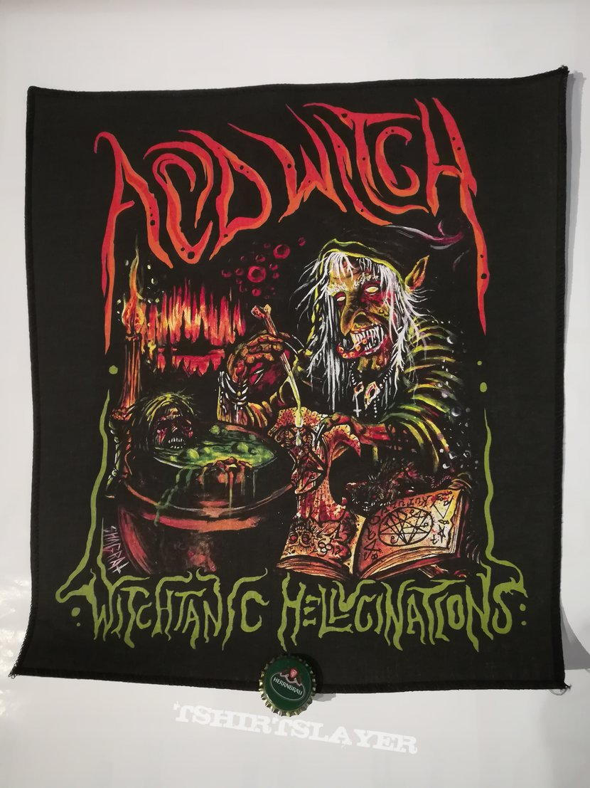 "Acid Witch ""Witchtanic Hellucinations"" Backpatch"