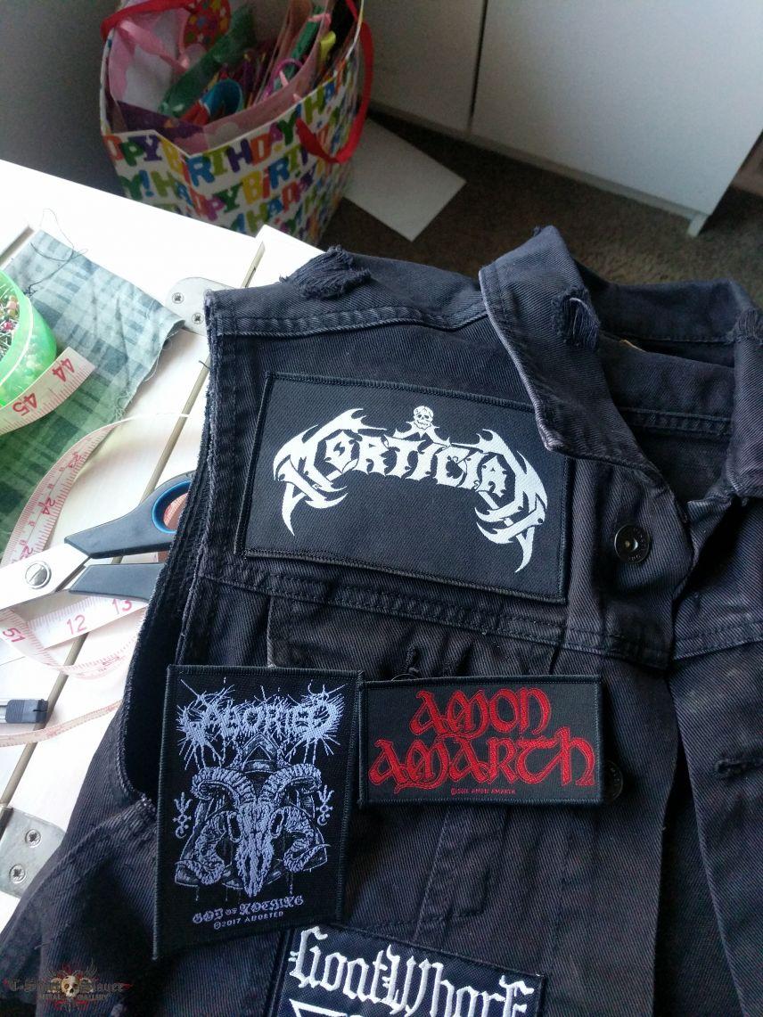 Start of my vest