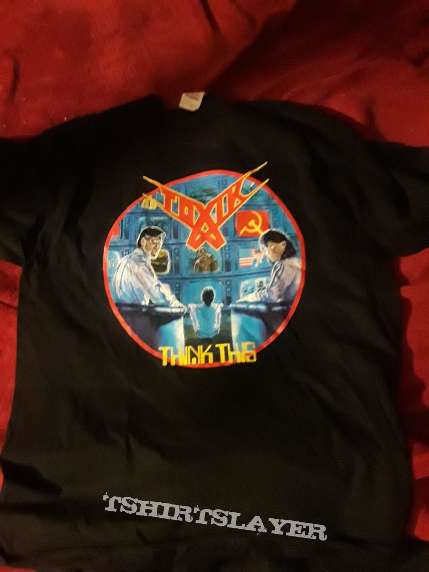 Official Toxik Think This T Shirt