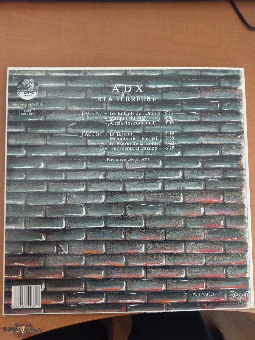 ADX - La terreur LP
