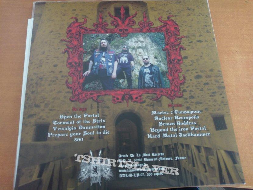 Manzer - Beyond the iron portal LP