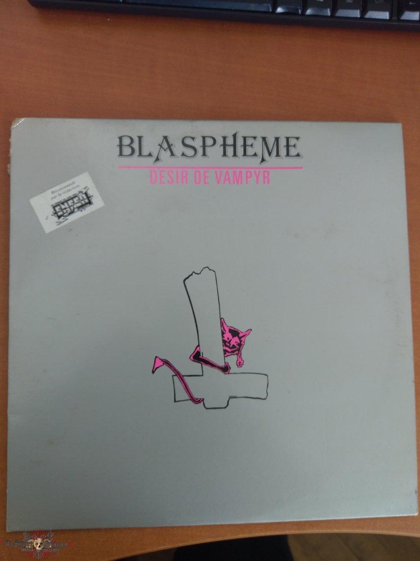 Blasphème Desir de Vampyr LP