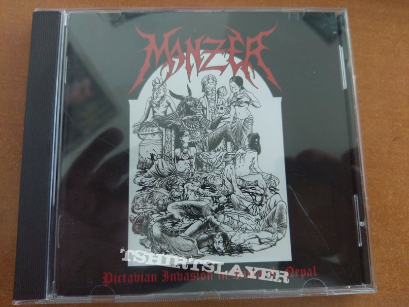 Manzer - Pictavian invasion in India & Nepal CD