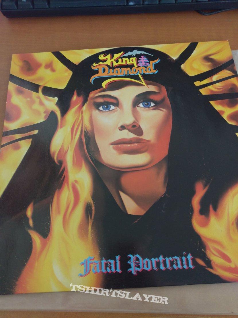 King Diamond - Falal Portrait LP