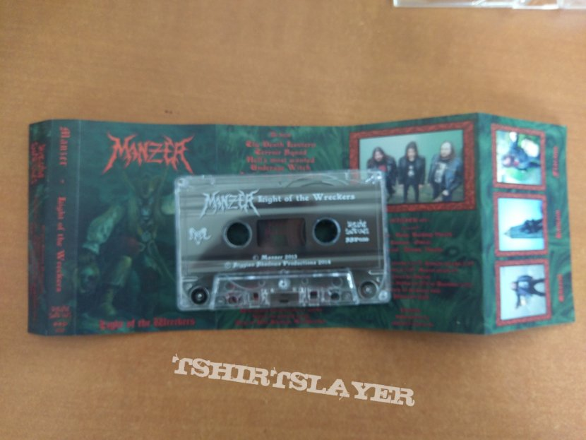 Manzer - Light of the wreckers tape