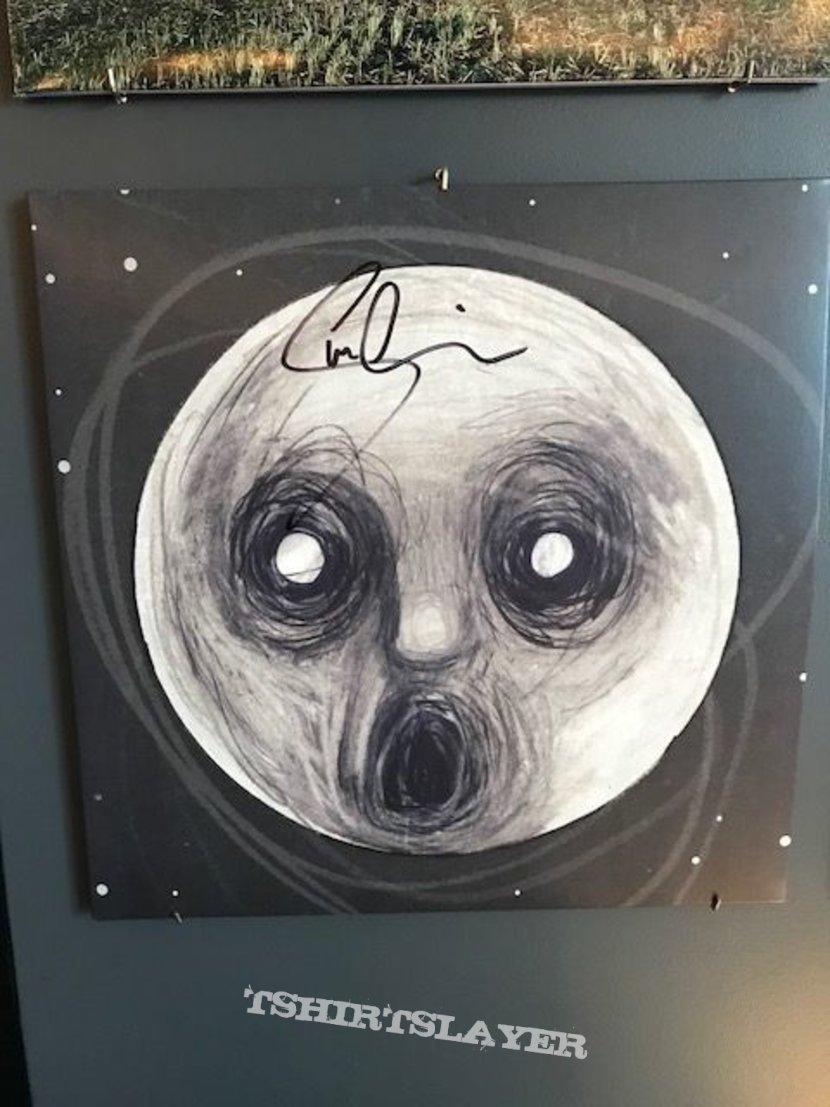 Signed Steven Wilson Records