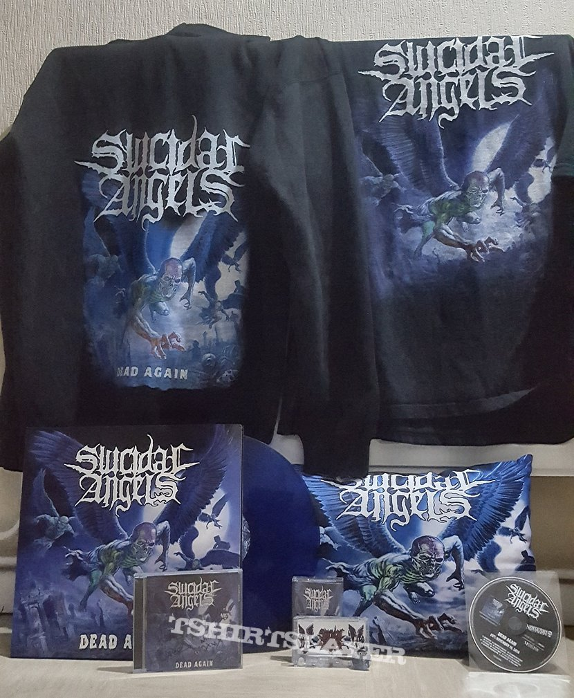 Suicidal angels dead again collection