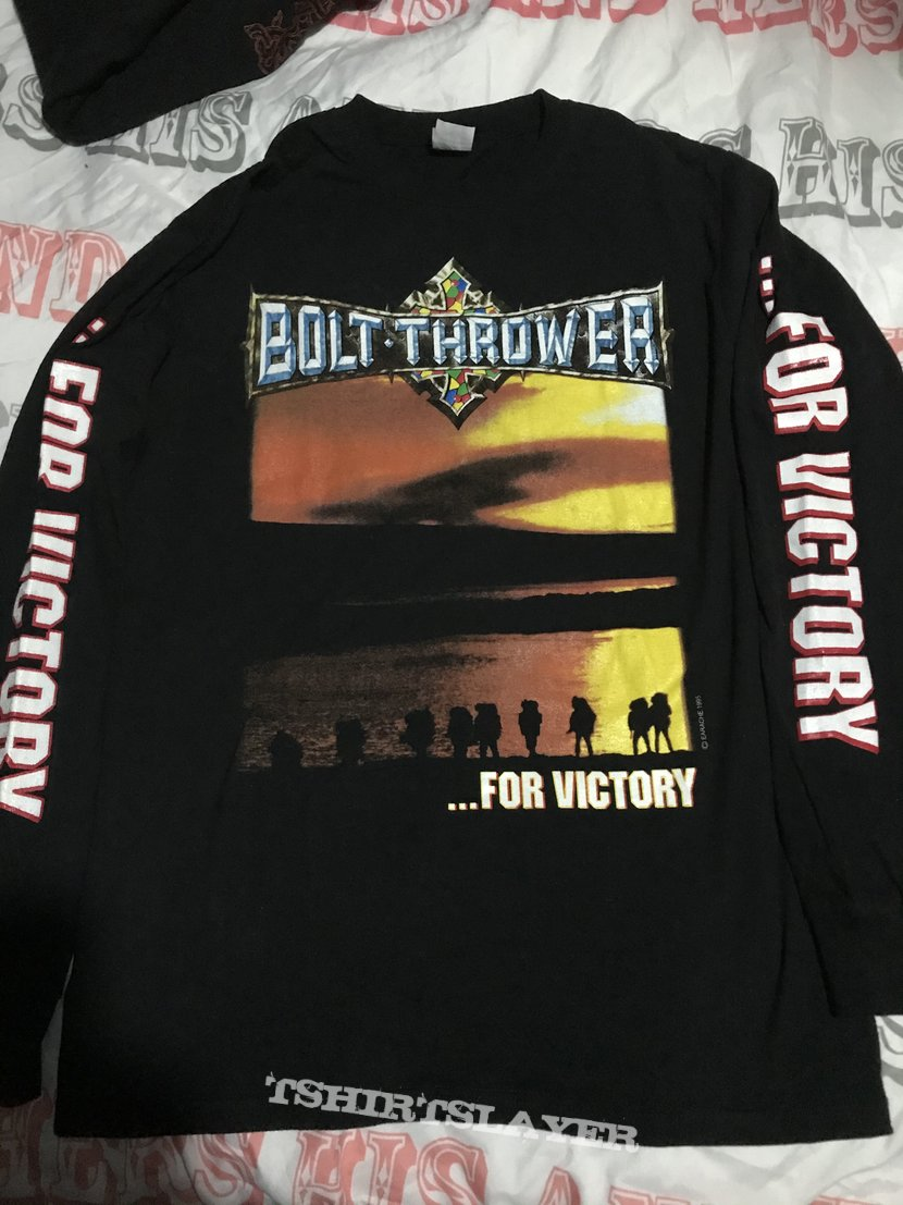 Bolt Thrower - ...For Victory longsleeve size L