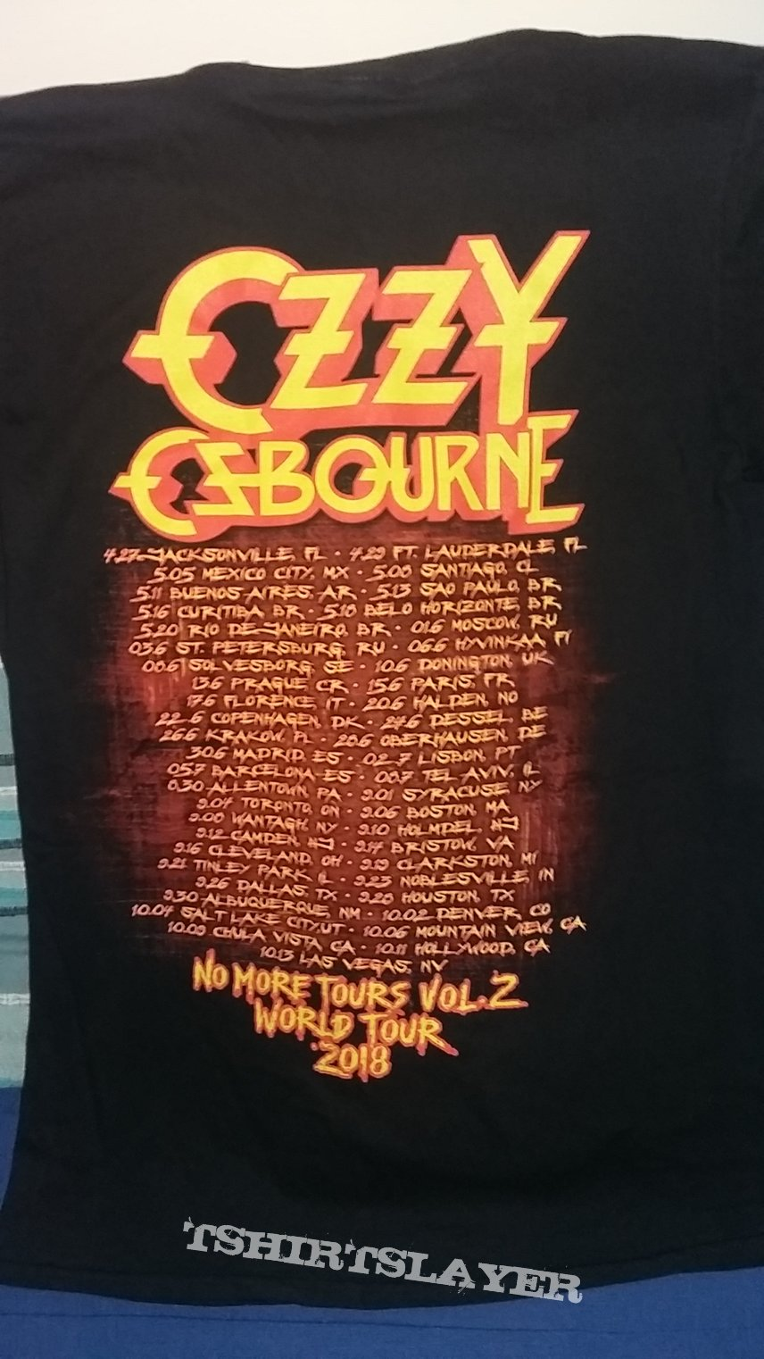 Ozzy Osbourne - No More Tours Vol.2 World Tour 2018