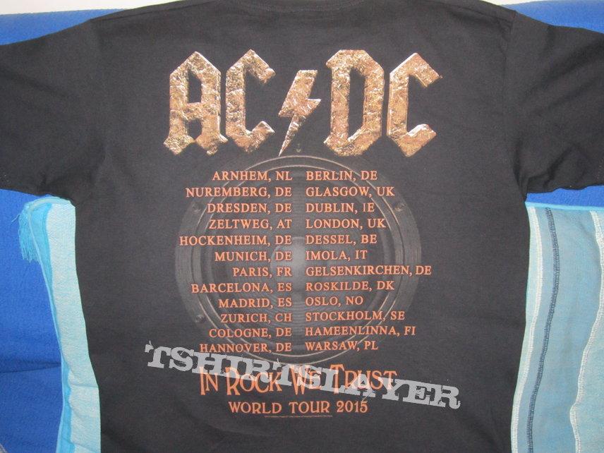 Ac Dc T Shirt Tour