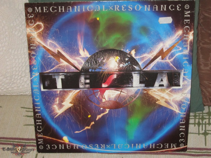 Antonio S Tesla Tesla Mechanical Resonance Tape Vinyl
