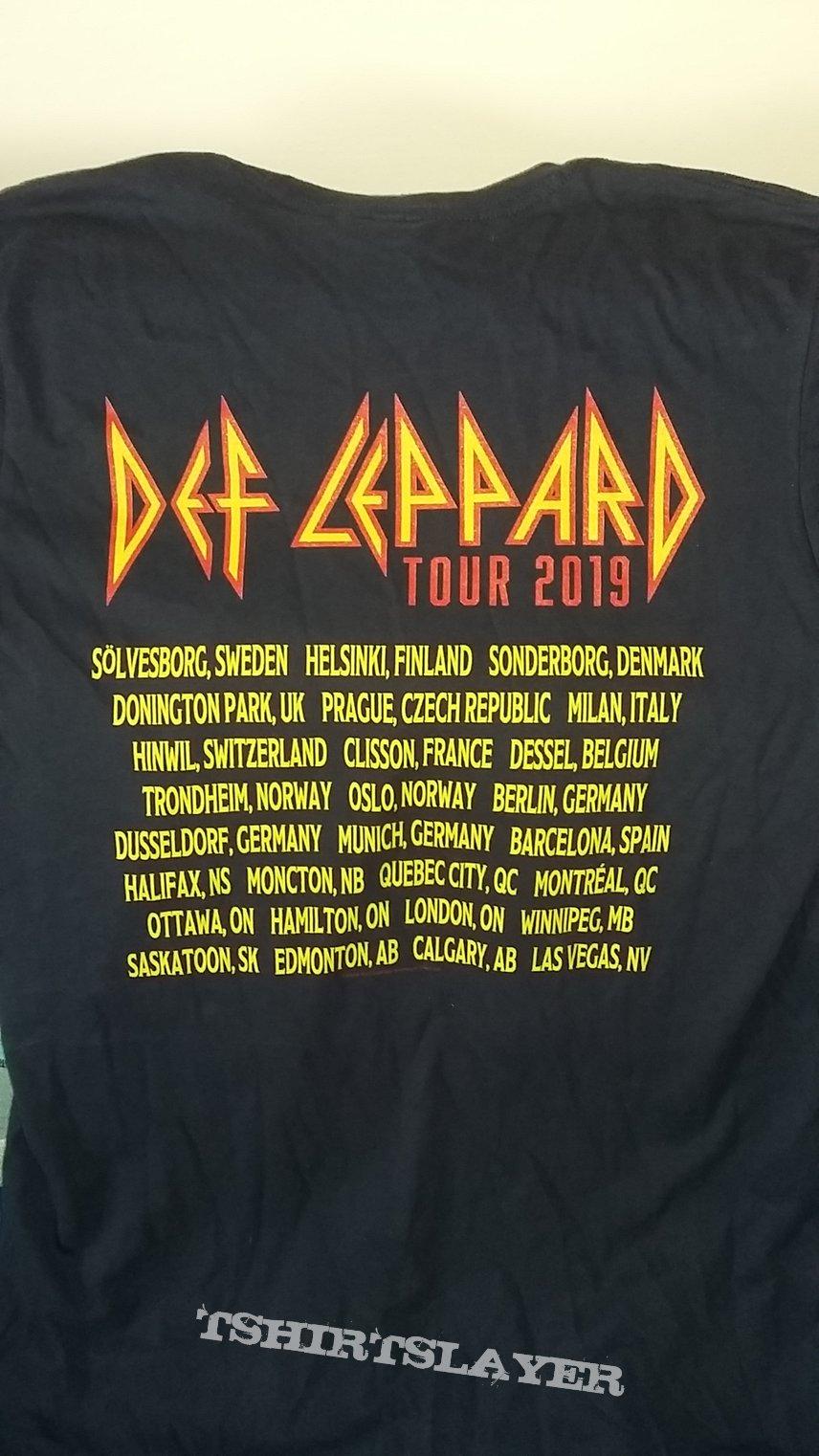 Def Leppard - Europe Tour 2019