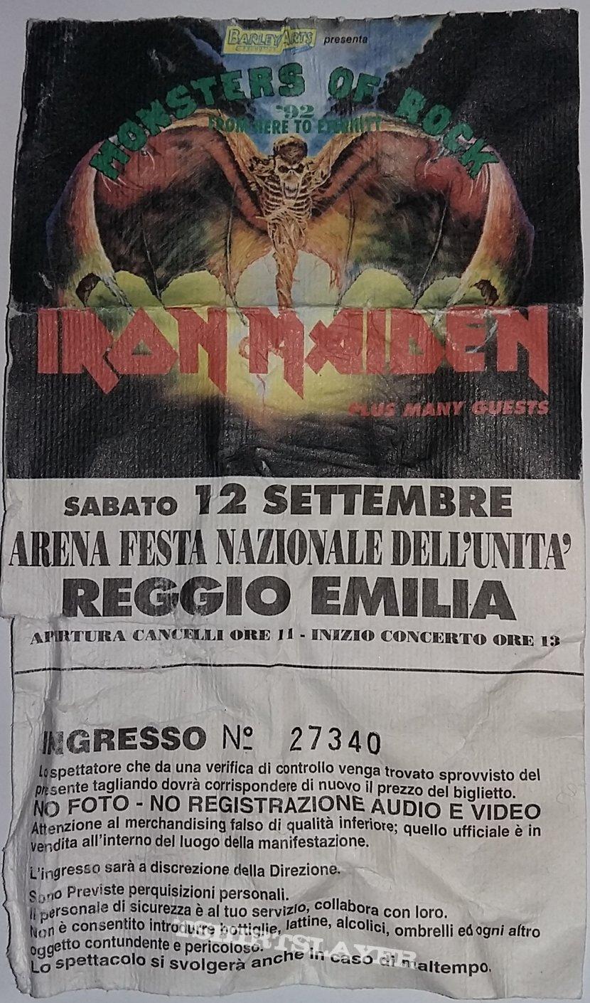 Monsters Of Rock 1992 - Reggio Emilia/Italy