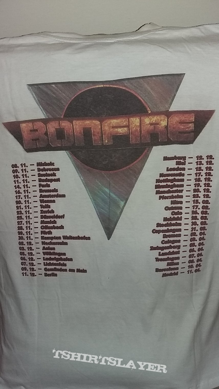 Bonfire - Point Blank Europe Tour 1989/1990