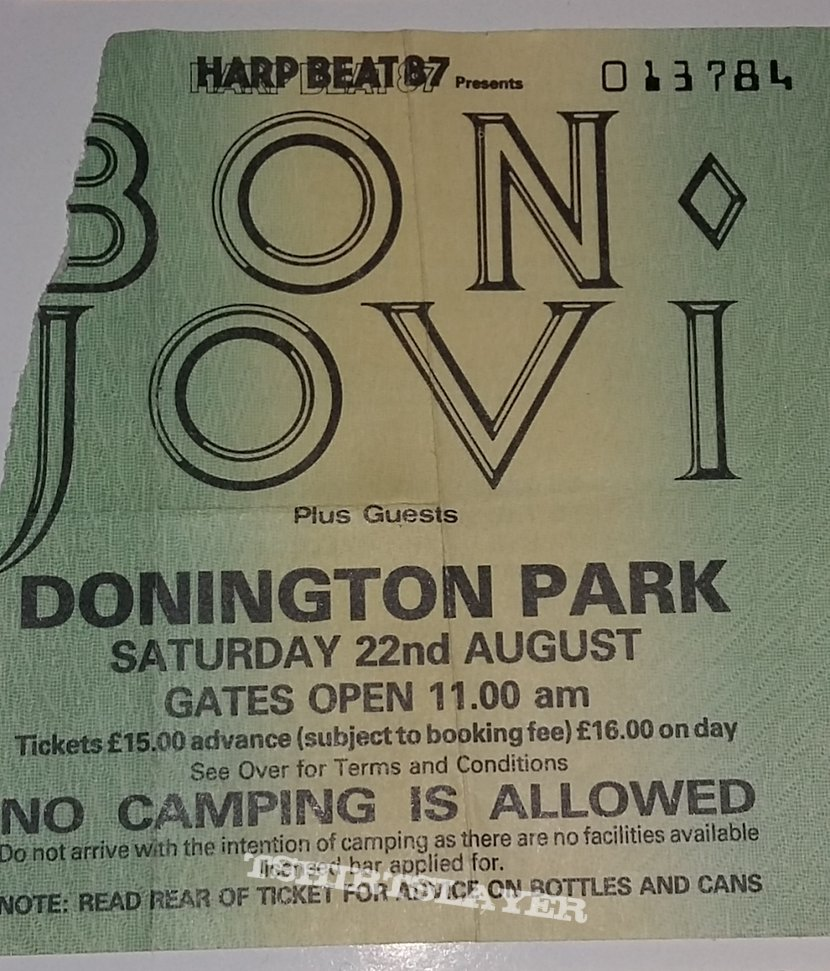Monsters Of Rock 1987 - Castle Donington/UK