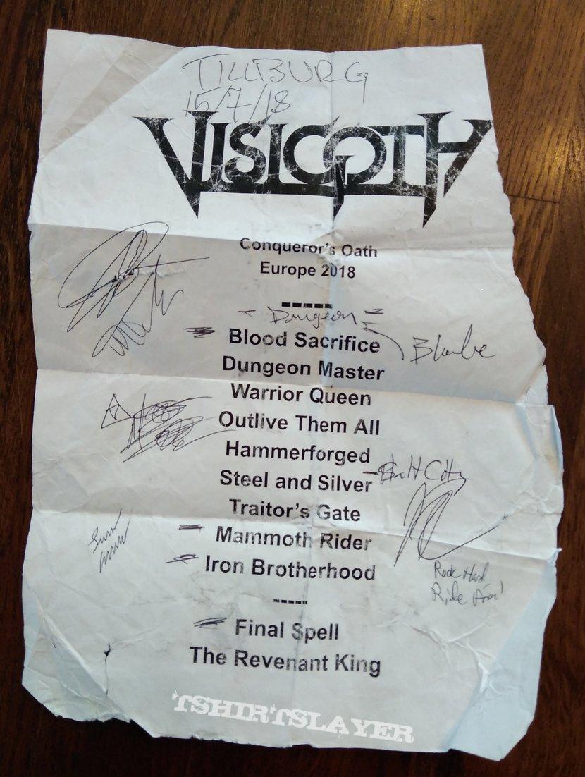 Visigoth Setlist