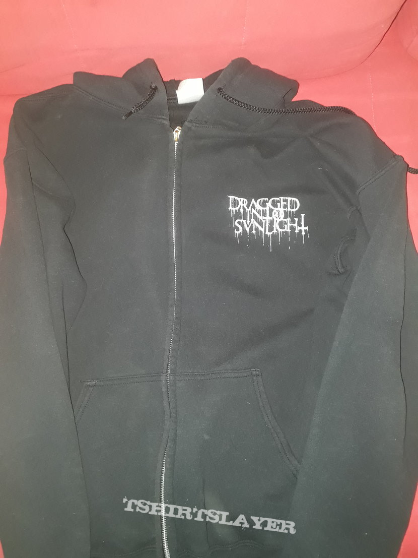 Official Dragged Into Sunlight zipper hoodie
