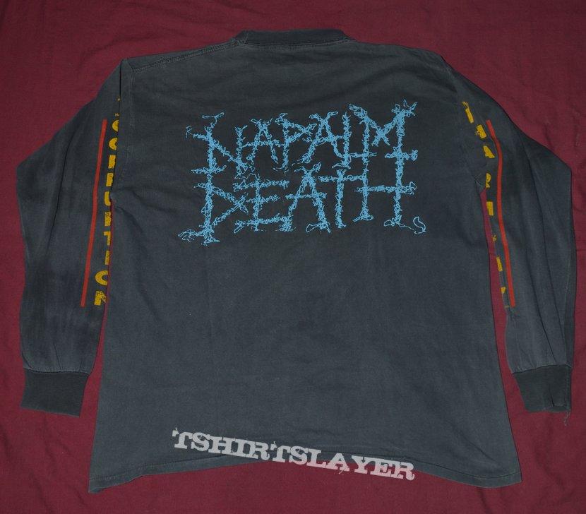 Rare Vintage Napalm Death longsleeve
