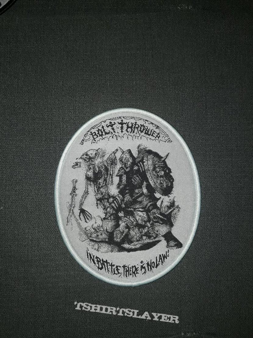 Bolt Thrower woven patch