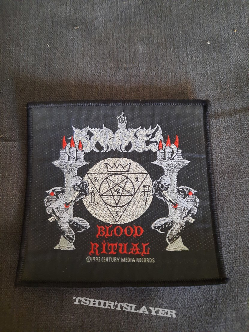 Official 1993 Samael woven patch