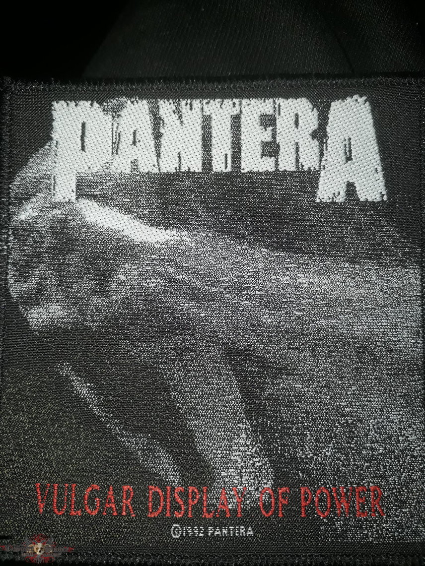 Official Pantera 1992 woven patch