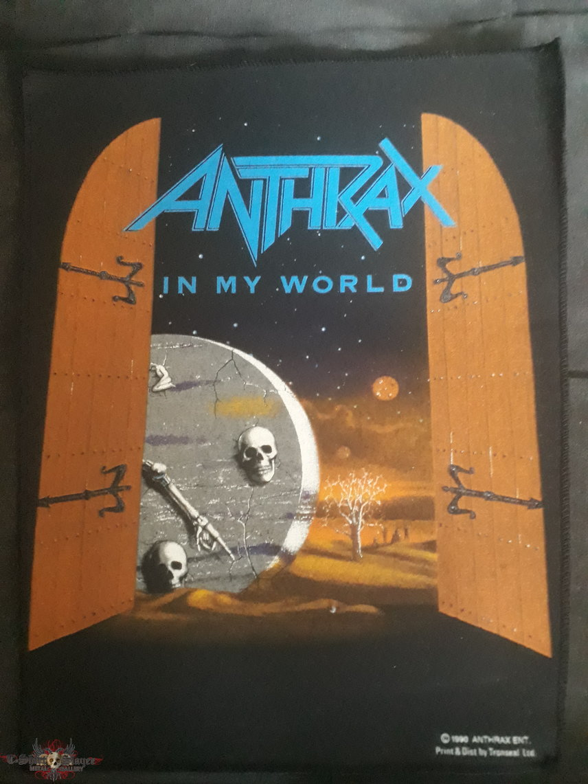 Org 1990 Anthrax Backpatch