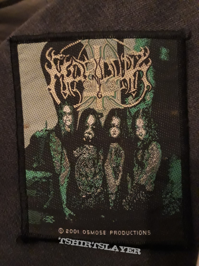Official Marduk woven patch