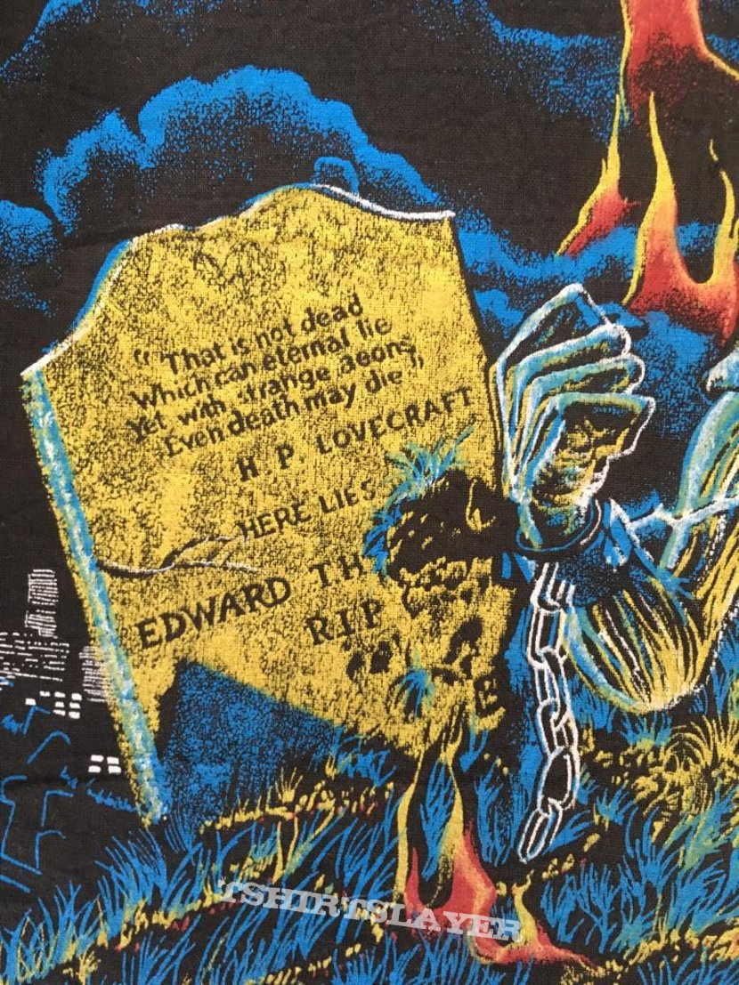 Iron Maiden - Live after Death - Vintage Back Patch 1985