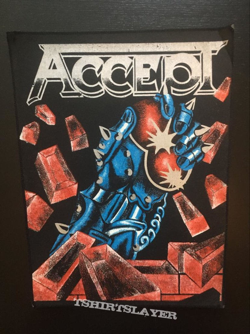 Accept - Balls to the Wall back patch