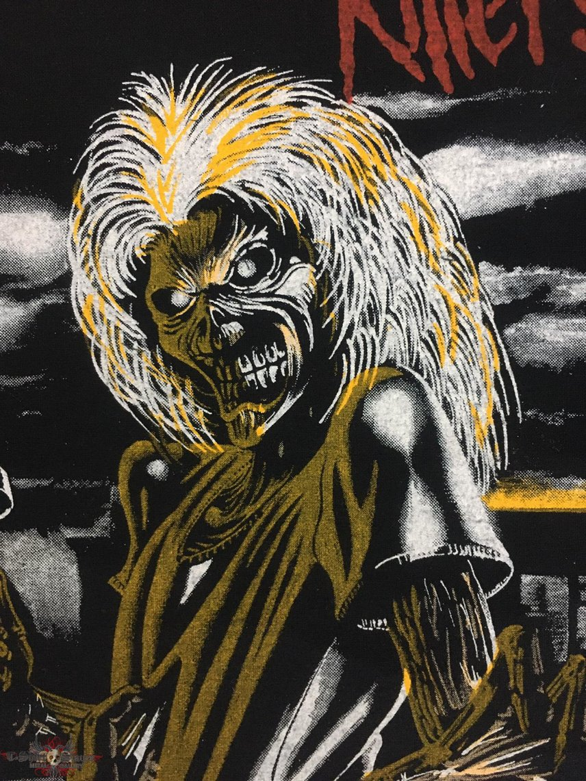 Iron Maiden - Killers - Back Patch 1981 (6th Version)