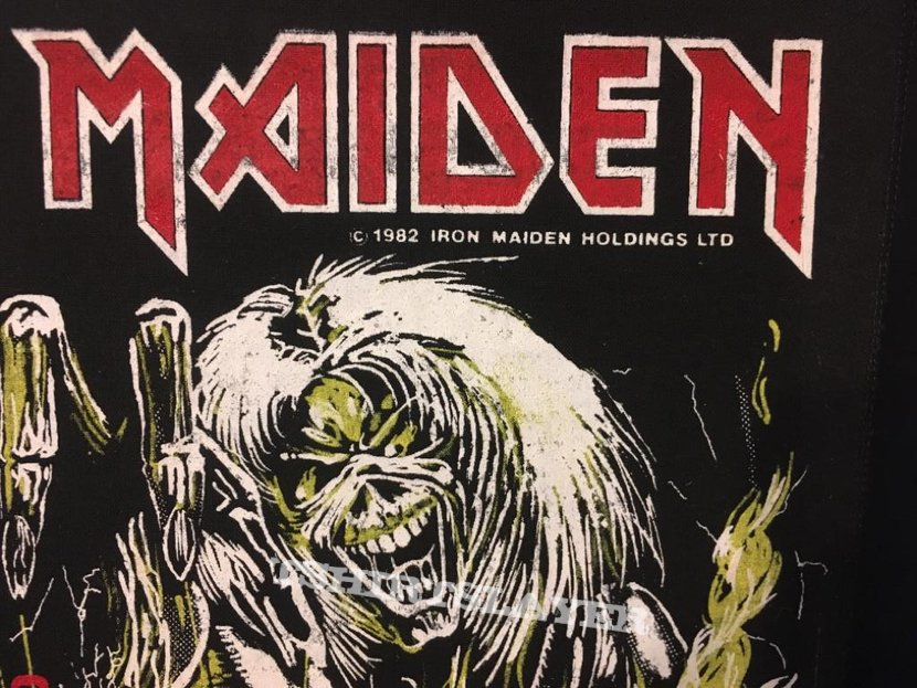 Iron Maiden - Number of the Beast - Vintage Back Patch 1982 (nr. 2)