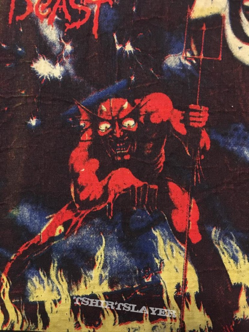 Iron Maiden - Number of the Beast - Vintage Back Patch (Version 1)