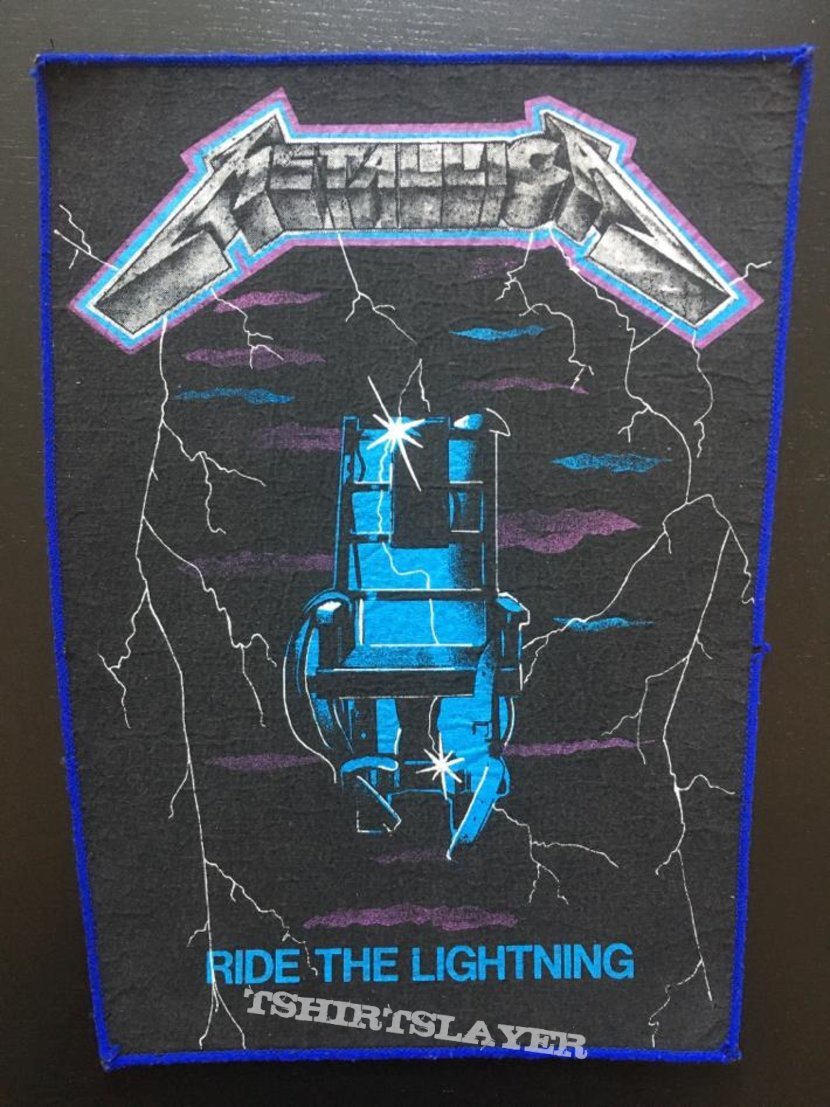 Metallica - Ride the Lightning - Back Patch