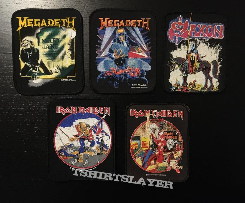 Patches for Heavy Metal Maniac - Bucci