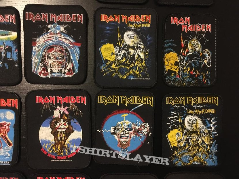Iron Maiden - Printed Vintage Patch Collection