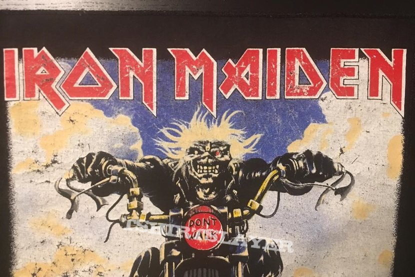 Iron Maiden - Don't Walk - Vintage Back Patch 1989 (nr. 2)