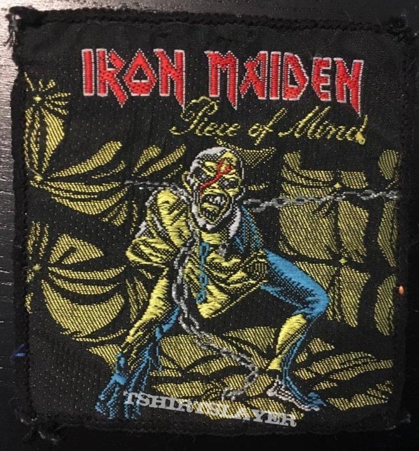 Iron Maiden - Piece of Mind - Vintage patch