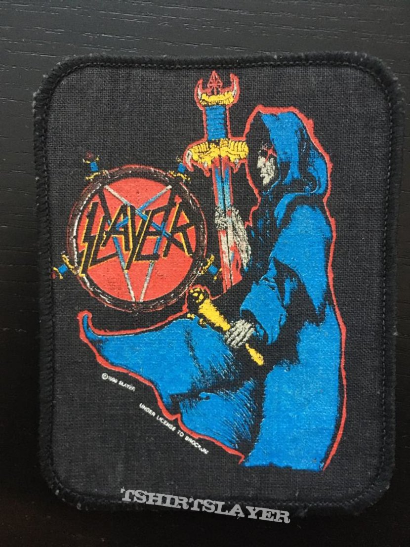 Slayer - Spill the Blood - Patch (1990)