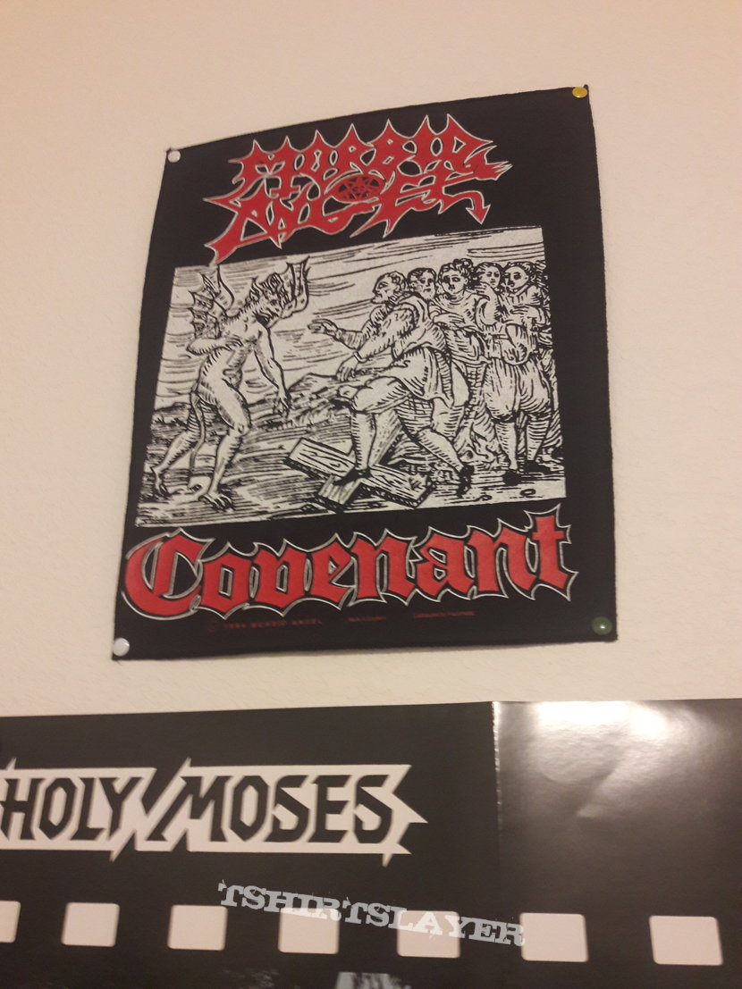 Morbid Angel Covenant back patch 1994
