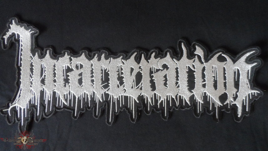 Incarceration -  Logo Backpatch 290 mm (embroidered)