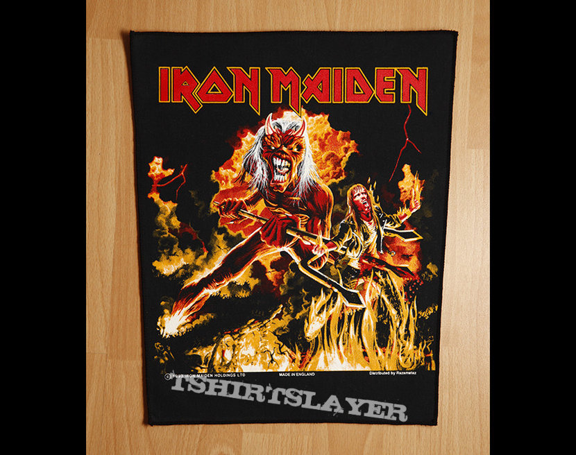 Iron Maiden - Hallowed be thy name / backpatch