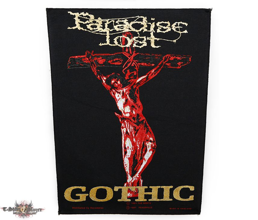 Paradise Lost - Gothic / official backpatch