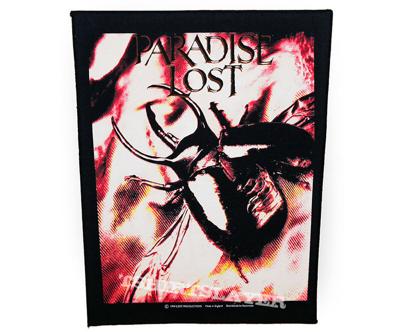 Paradise Lost - Harmony Breaks / official backpatch