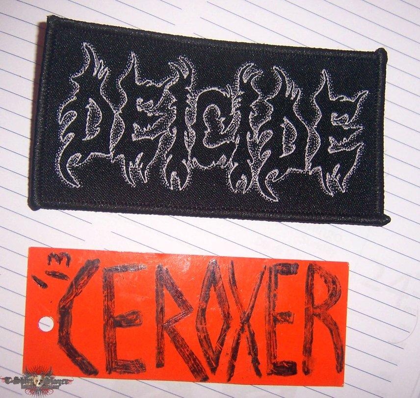 DEICIDE  official woven patch