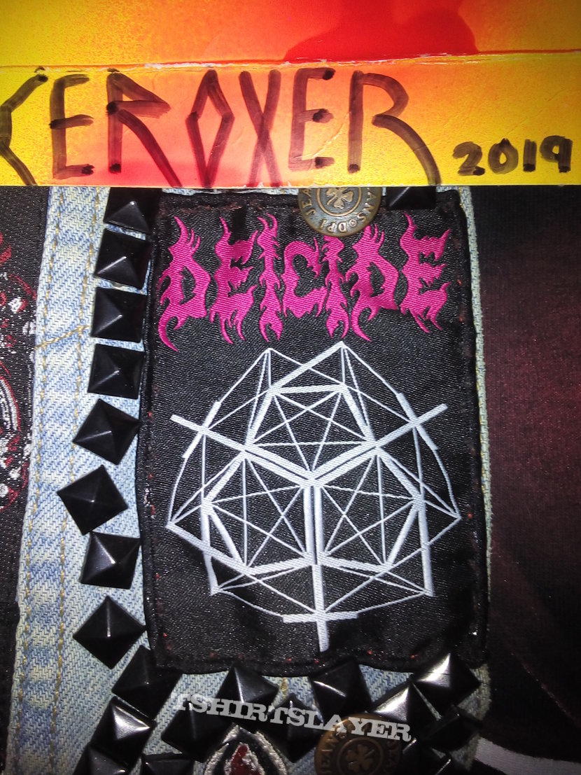 DEICIDE overtures of blasphemy official woven patch